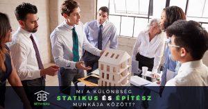 Mi a különbség a statikus és az építész között?